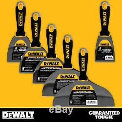 Dewalt Putty Ensemble De Couteaux De 3-4-5-6-8-10 Outils En Acier Inoxydable Pour Cloisons Sèches