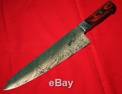 Fait Sur Mesure Damas Blade 6pcs. Cuisine Couteaux Set A-e 71 O