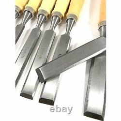 Japanese Chisel Nomi Outil De Menuiserie 12 Jeu De Lame Bricolage Couteau Pour Le Débutant
