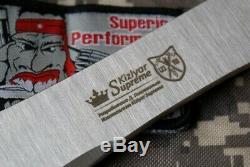 Lot De 3 Couteaux Throwing Russe Impulse (420 Steel) Kizlyar Couteaux Les Suprême