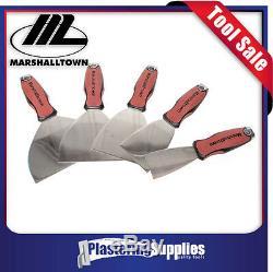 Marshalltown 2 3 4 5 6 Couteau En Acier Inoxydable Joint Set Grattoirs