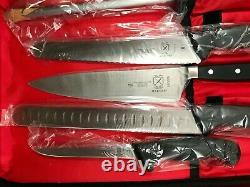 Mercer 14 Pièces Kitchen Chef Knife Set Cas Couverts En Acier Au Carbone
