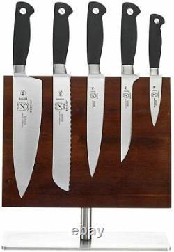 Mercer Culinary Genesis 5 Couteau Set + Tableau Magnétique, Couteaux En Acier Inoxydable