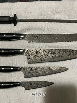 Miyabi Hibana 5 Pièces Knife Set 800dp Friodur Fine Carbine Fc61 Acier Inoxydable