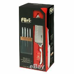 New Furi Pro 5 Pièces Couteau En Acier Inoxydable Avec Bloc 41346