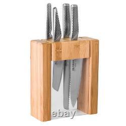 Nouveau Global Teikoku Knife Block Set 5pce
