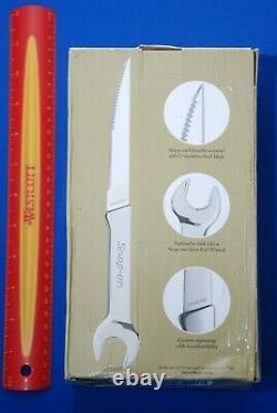 Nouveaux Outils Snap-on Acier Inoxydable 6 Pièces Open-end Wrench Handle Steak Knife Set