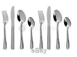Offre Spéciale 32 Piece Couverts En Acier Inoxydable Set Couteaux Fourchette Cuillère Cuillère
