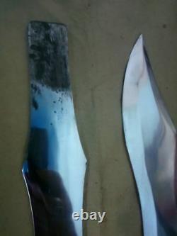Réplique Médiévale Set Of 3 Knife En Acier Pouillant Pour Larp/réaction