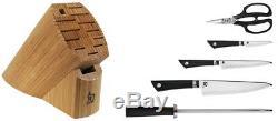 Shun Sora 6 Piece Block Set Couteau Vbs0600 Marque New Auth Concessionnaire
