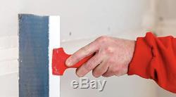 Taping Jeu D'outils De Cloison Sèche De Grattoir Flexible Bleu Acier Finition Couteaux Avec Pan