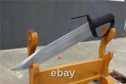 Un Ensemble De 2 Couteaux Papillon Aile Chun Martial Arts Dao Sword Sharp Carbon Steel