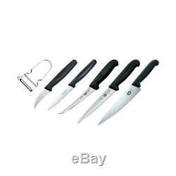 Victorinox 7 Piece Apprenti Hospitalité Couteau De Chef Set 74198 Marque Nouveau
