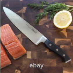 Viking 15 Piece Knife Set With Wood Block Premium Lames D'acier Allemandes Cuisine