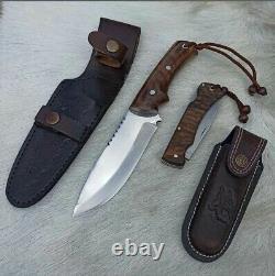 Woodman Bushcraft Mountain Man Bush Field Knife Kit Set Couteaux En Acier Inoxydable