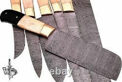 Wp-knives Sur Mesure En Acier De Damas Splendid Kitchen Set Couteaux Lots De 7