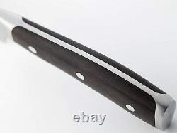 Wusthof Ikon Blackwood Couteau Santoku 7 Pouces Avec Edge Hollow Brand Nouveau